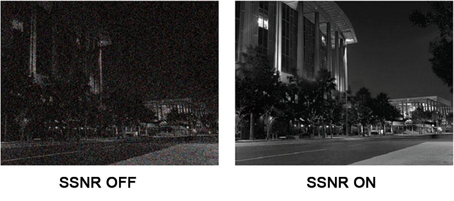 کاهش دهنده نويز تصاوير (SSNR)