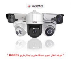 نحوه انتقال تصویر ورتینا از طریق HiDDNS