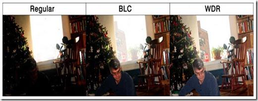 تنظيم نور پس زمينه (BLC)