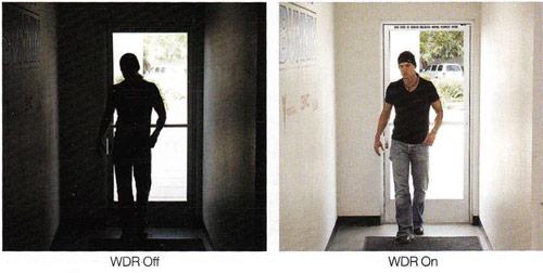 تنظيم نور پس زمينه (WDR)