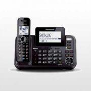 گوشی تلفن بی سیم دوخط مدل KX-TG9541