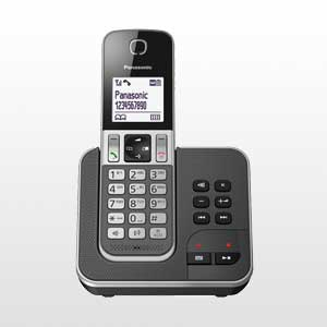 تلفن بی سیم پاناسونیک | تلفن بی سیم  پاناسونیک KX-TGD320BX