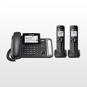 تلفن بی سیم دوخط مدل KX-TG9582
