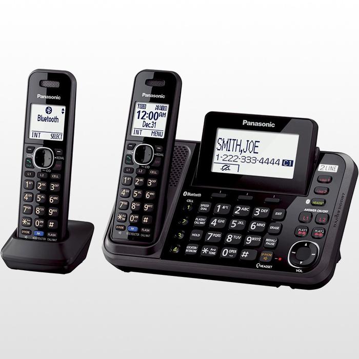 تلفن بی سیم پاناسونیک دوخط مدل KX-TG9542