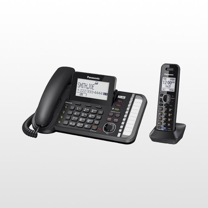 تلفن بی سیم پاناسونیک دوخط مدل KX-TG9581