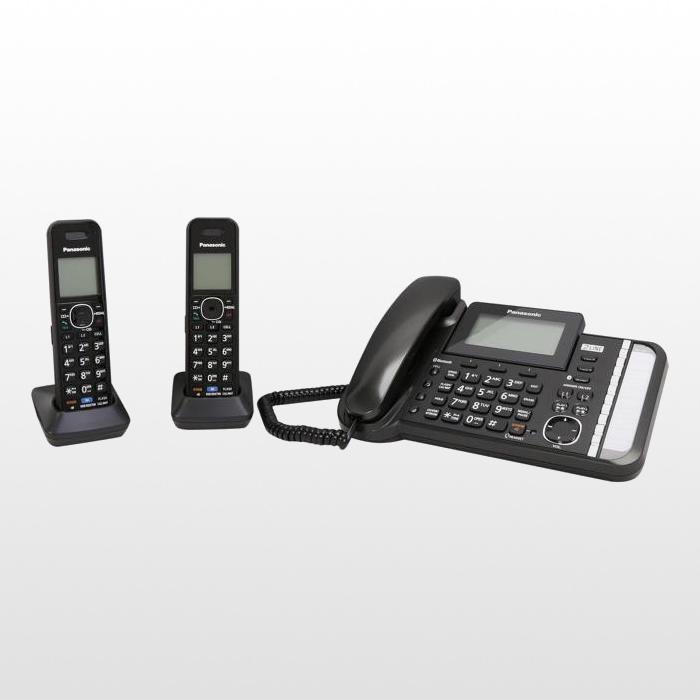 تلفن بی سیم پاناسونیک دوخط مدل KX-TG9582