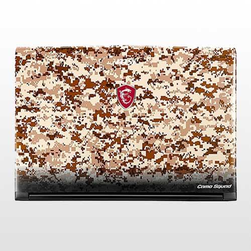 تصویر لپ تاپ ام اس آی GE62 7RE Camo Squad-Core i7