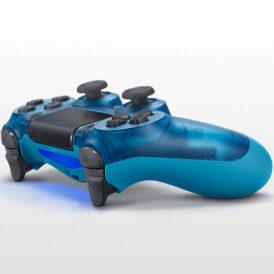 تصویر DualShock 4 Exclusive Blue Crystal Edition