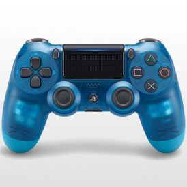 تصویر DualShock 4 Exclusive Blue Crystal Edition
