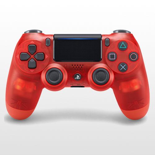 تصویر DualShock 4 Exclusive Red Crystal Edition