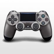 تصویر DualShock 4 Steel Black