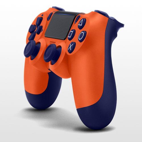 تصویر DualShock 4 Sunset Orange