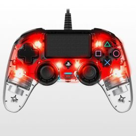 تصویر Wierd Illuminated Compact Controller Crystal Red