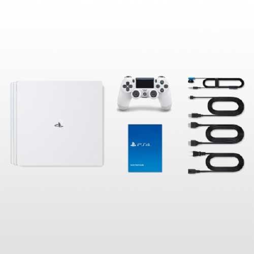 خرید پلی استیشن 4 پرو تک دسته 1 ترابایت سفید PS4 Pro 1TB-R2