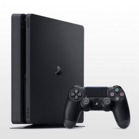 پلی استیشن 4 اسلیم تک دسته 1 ترابایت مشکی PS4 Slim 1TB-R2