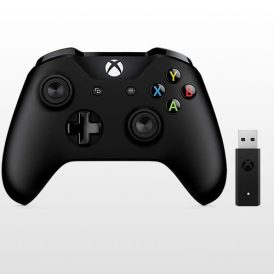 Xbox One S Wireless Controller + Adapter for Windows