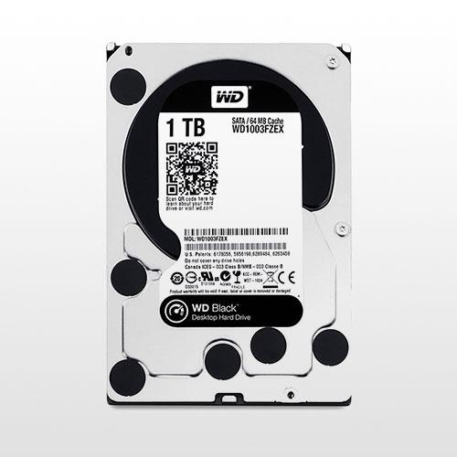 تصویر هارد دیسک اینترنال Western Digital Black NAS-1TB