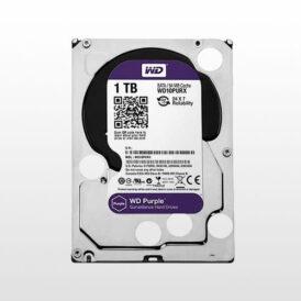 تصویر هارد دیسک اینترنال Western Digital Purple Surveillance-1TB