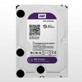 تصویر هارد دیسک اینترنال Western Digital Purple Surveillance-6TB
