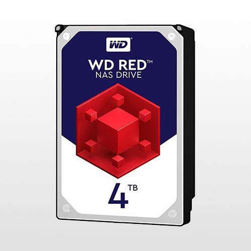 تصویر هارد دیسک اینترنال Western Digital Red NAS-4TB