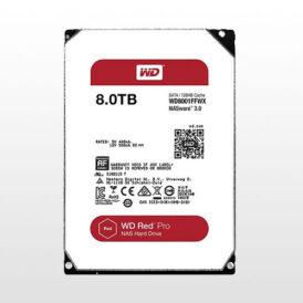 تصویر هارد دیسک اینترنال Western Digital Red Pro NAS-8TB