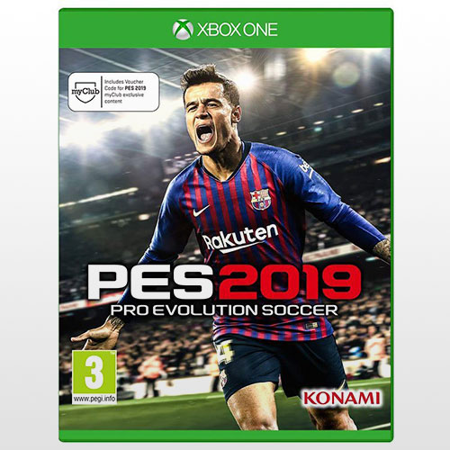 بازی ورزشی PES 2019-Xbox   بازی PES 2019-Xbox