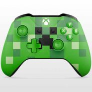 تصویر Xbox One Wireless Controller-Minecraft Edition