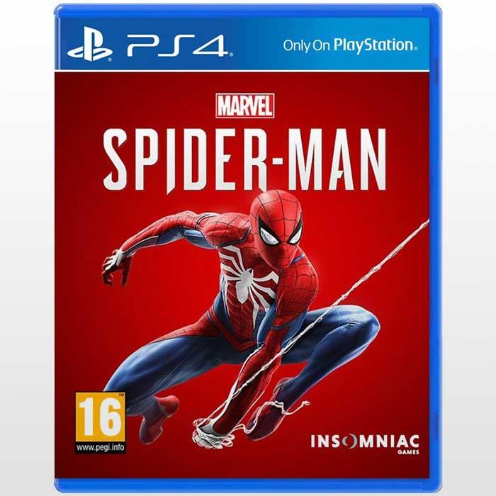 بازی اسپایدرمن Spider-Man-R2 | بازی پلی استیشن ۴ ریجن ۲ Marvel's Spider Man