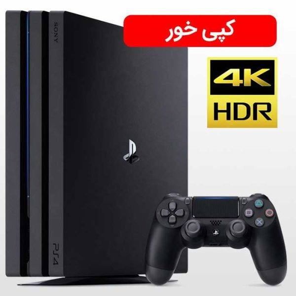 تصویر PS4 Pro 1TB Copy-R2-CUH 7116B Black