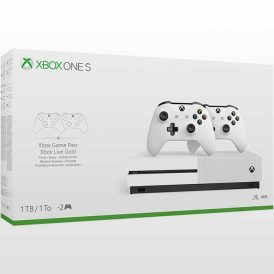 تصویر Xbox One S 1TB-With Two Controllers