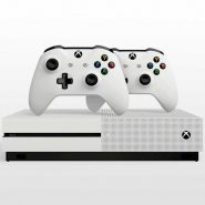 Xbox One S 1TB With Two Controllers 3