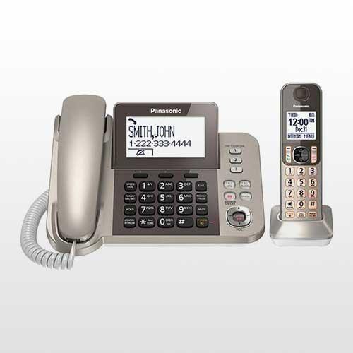 تلفن بی سیم پاناسونیک مدل KX-TGF350 | Panasonic KX-TGF350 Wireless Phone