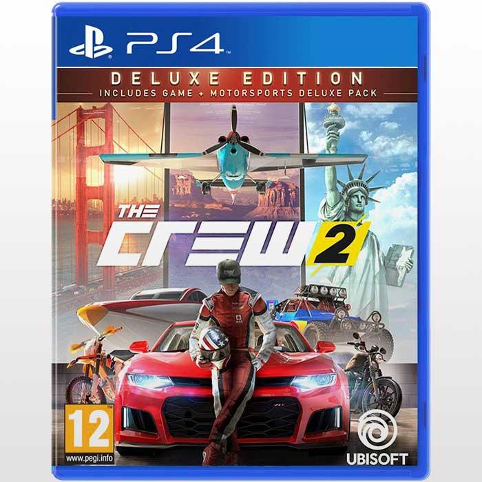 تصویر بازی پلی استیشن ۴ ریجن ۲-The Crew 2 Deluxe Edition
