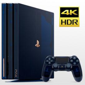 PS4 Pro 2TB-R2-CUH 7016B 500 Millions Limited Edition