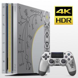 تصویر پلی استیشن ۴ پرو تک دسته ۱ ترابایت PS4 Pro 1TB-R2-CUH 7116B God of War