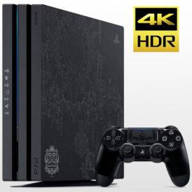 تصویر پلی استیشن ۴ پرو تک دسته ۱ ترابایت PS4 Pro 1TB-R2-CUH 7016B Kingdom Hearts 3