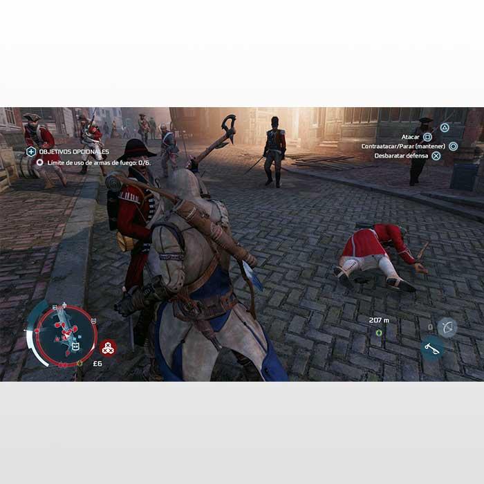 تصویر بازی پلی استیشن ۴ ریجن۲-Assassin's Creed 3 Remastered