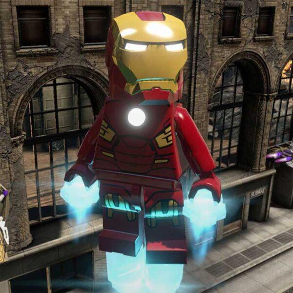 تصویر بازی پلی استیشن ۴ ریجن Lego Marvel Super Heroes-2