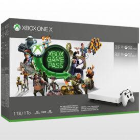 تصویر ایکس باکس وان ایکس ۱ ترابایت سفید Xbox one X