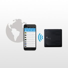 تصویر هارد اکسترنال وسترن My Passport Wireless PRO