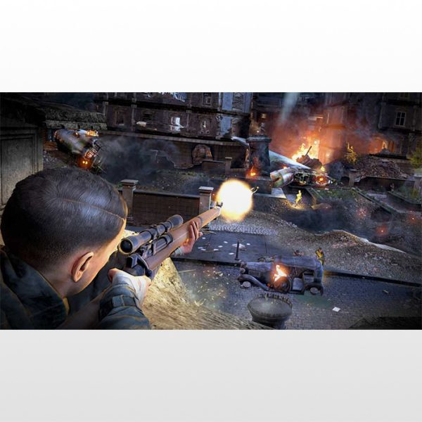 بازی پلی استیشن ۴ ریجن ۲-Sniper Elite V2 Remastered