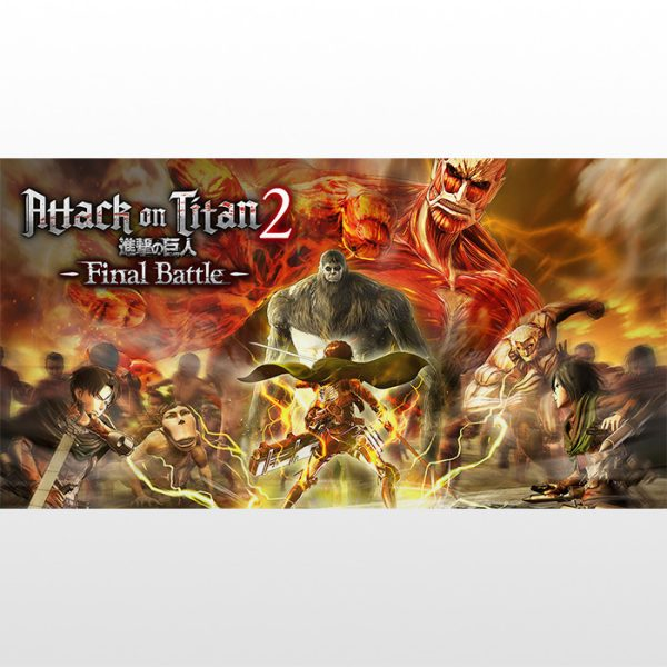 تصویر بازی پلی استیشن ۴ ریجن ۲ Attack On Titan 2: Final Battle
