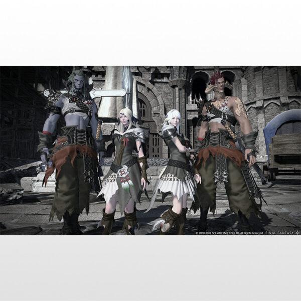 تصویر بازی پلی استیشن ۴ ریجن ۲ Final Fantasy XIV Online Complete Edition