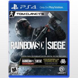 تصویر بازی پلی استیشن ۴ ریجن Rainbow Six Siege Deluxe Edition-All
