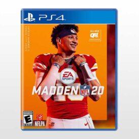 تصویر بازی پلی استیشن ۴ ریجن ۲-Madden NFL 20