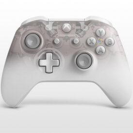 تصویر دسته ایکس باکس وان اس Xbox One S Wireless Controller Phantom White