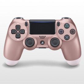 تصویر دسته پلی استیشن ۴ DualShock 4 Rose Gold