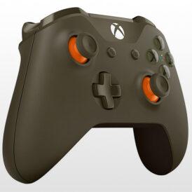 تصویر دسته ایکس باکس وان Xbox One Wireless Controller Green-Orange