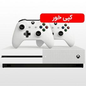 تصویر ایکس باکس وان اس ۱ ترابایت دو دسته کپی خور Xbox One S