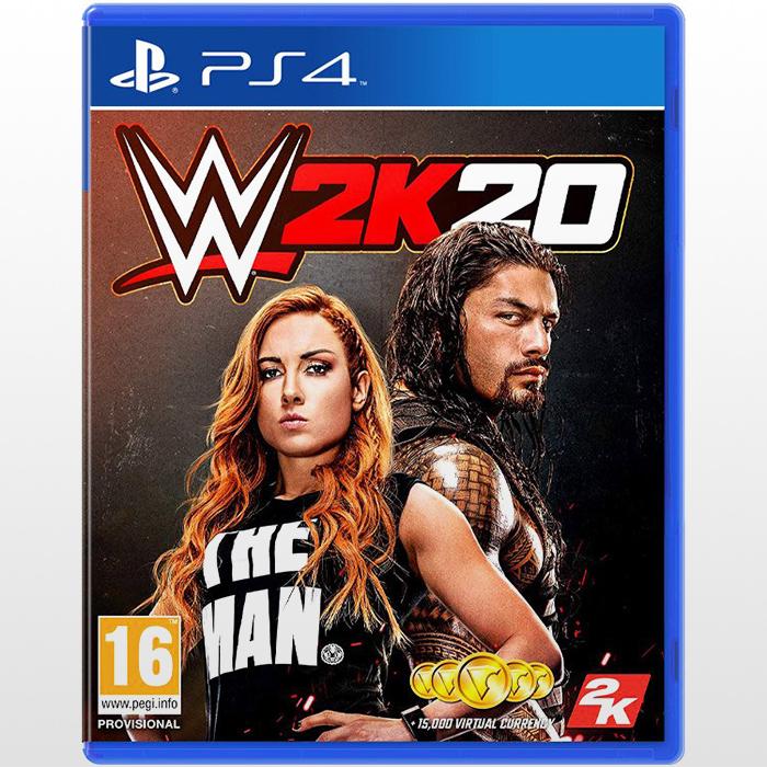 تصویر بازی ورزشی WWE 2K20-R2